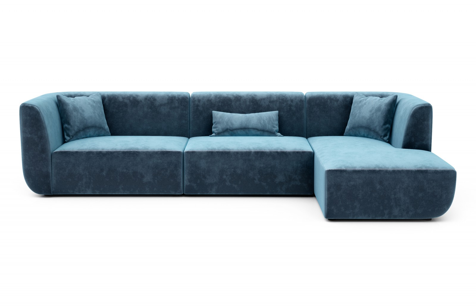 Right side chaise sectional