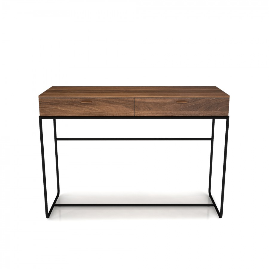 2 drawer console table linea